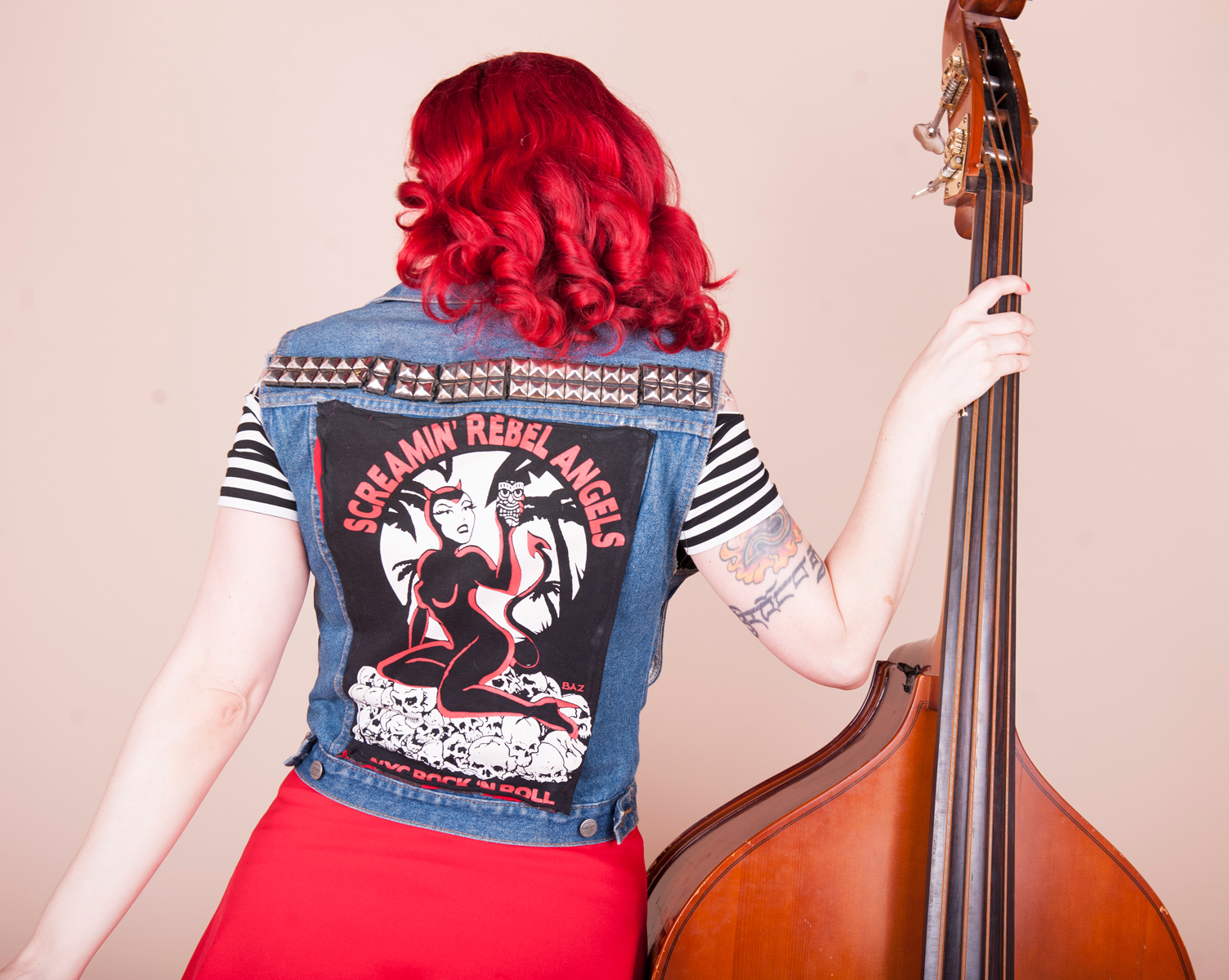 Screamin' Rebel Angels Vest Contact Page