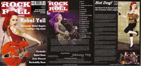 UK Rock 'n Roll Magazine, Screamin' Rebel Angels, Laura Rebel Angel